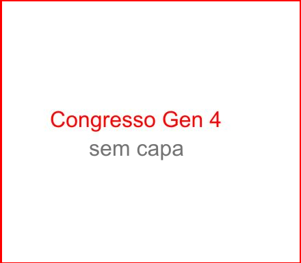 Capa do Congresso Gen4
