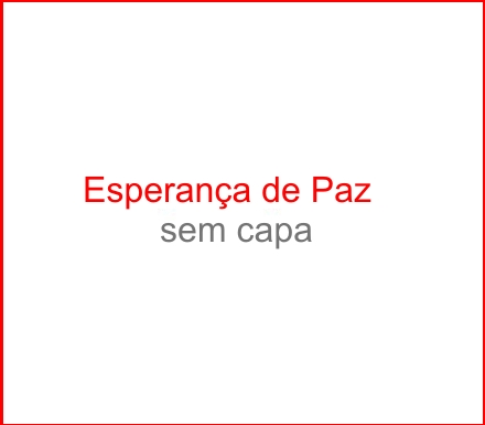 Capa do CD Esperança de Paz