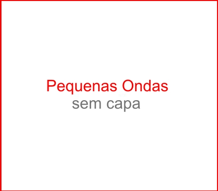 Capa do CD Pequenas Ondas